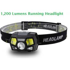 Running Headlight - High Power 1200 Lumens