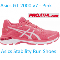 Asics GT 2000 (7) Women's Running Shoes - Pink