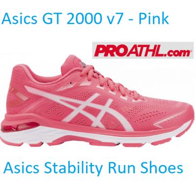 Asics GT 2000 (7) Women's Running Shoes - Pink