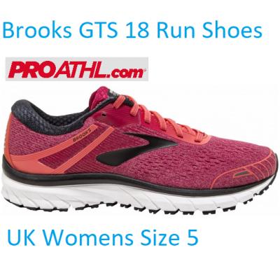 Brooks GTS 18 Womens Running Shoes - UK 5